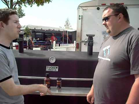 Grilling with Rich Chats with Drapers BBQ Sauce During Memphis in May 2011