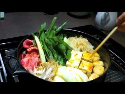 SUKIYAKI the very traditional Japanese Cuisine