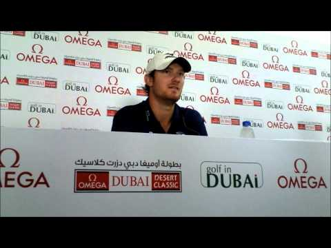 Chris Wood talking about being stopped at the airport when he played in the USPGA