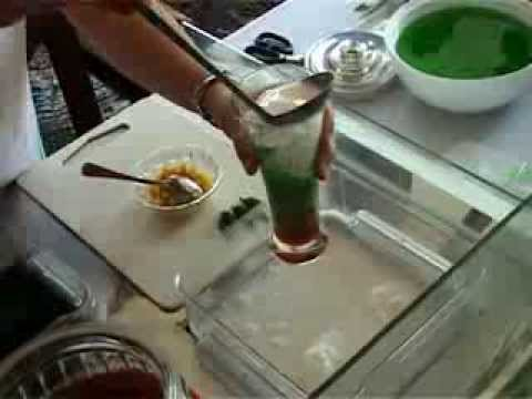 Cendol Sruut by Mr. Food (Indonesia Traditional Dessert) YUM!!!