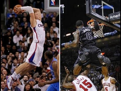 D. Rose, D. Wade, LBJ & Blake Griffin Highlight Reel (2010-2011)