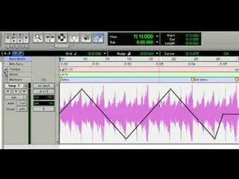 Panning Automation in Pro Tools