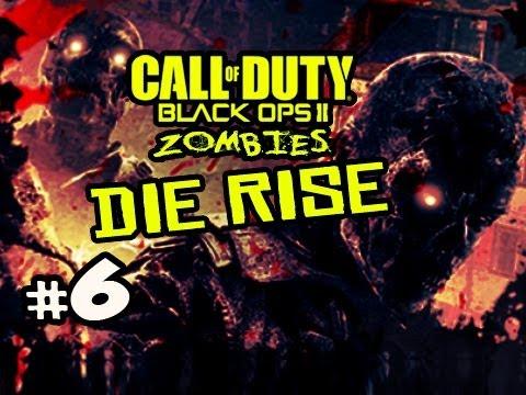 NO SCREWJOB?!? - Die Rise Zombies Black Ops 2 w/ Kootra Ep.6