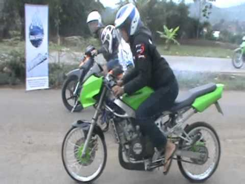 DRAG KAWASAKI NINJA 150 VS SUZUKI SATRIA 125 KUNGPOW 29.by wong3Dproduction