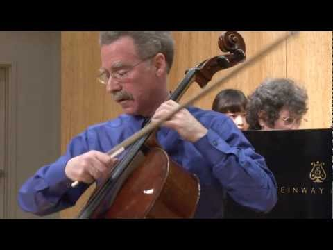 Prokofiev Cello Sonata, 2nd movement, with Hamilton Cheifetz and Janet Guggenheim