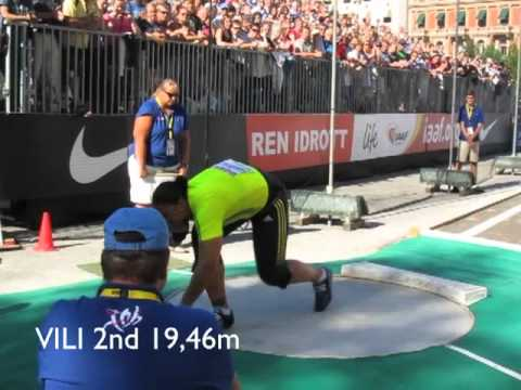 SHOT PUT  BIG SHOT Women Stockholm 2010.m4v