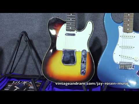 Jay Rosen Guitars / Orange County CA Guitar Show 2011 / Vintage&RareTV