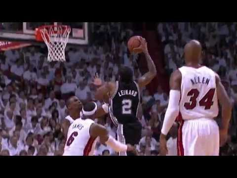 Kawhi Leonard Drops 20 for the Spurs in Game 4