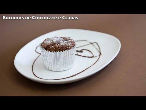 Receita de Bolinhos de Chocolate e Claras