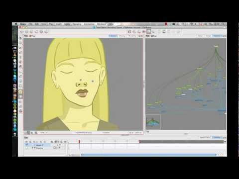 Week 3 of Rigging a Head in Animate Pro or Harmony - Part 1