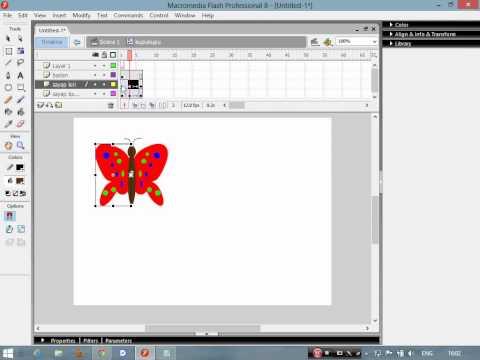 Macromedia flash 8 dersleri ders 1