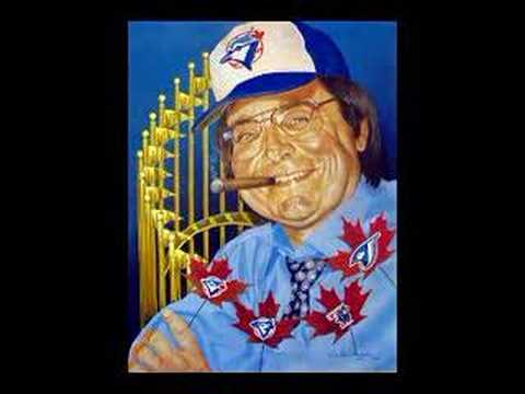 Paul Beeston Blue Jay Induction Art