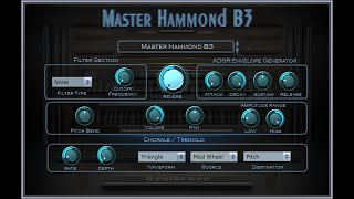 Syntheway Master Hammond B3 Organ VST Plugin (Virtual Musical Instrument) Windows, Mac OS X - YouTube