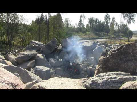 CNP #1. Homemade Gas Explosion at Stone Quarry - HD
