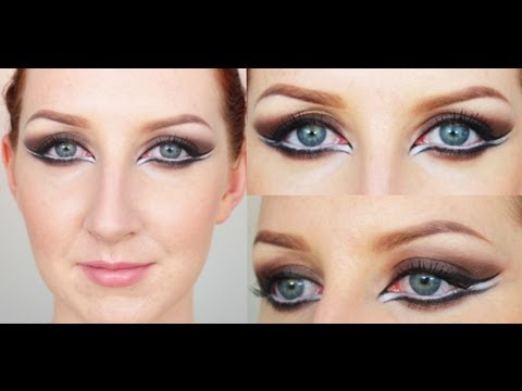 P!NK MAKEUP TUTORIAL CREATIVE EYELINER