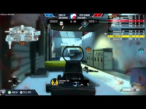 Curse NY vs OpTic Gaming - Game 4 - LR2 - US Championship