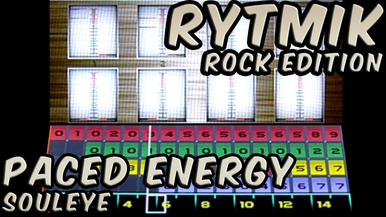 Paced Energy (Souleye) on Rytmik Rock Edition by Readek