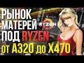 Рынок системных плат под AMD Ryzen