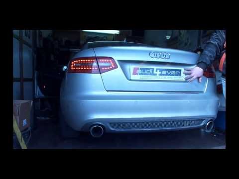 Audi A6 4F 3.0TFSI Custom Exhaust