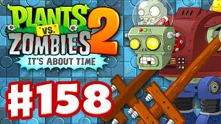 Plants vs Zombies 2 It39s About Time - Gameplay Walkthrough Part 158 - Terror from Tomorrow iOS