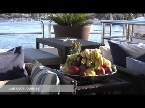 Motor Yacht Azteca 2 luxury at sea