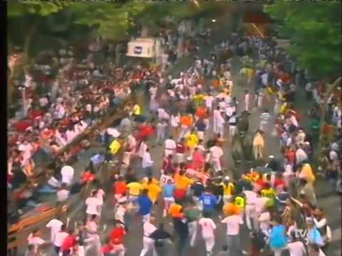 Encierro de San Fermín   10 de julio de 1999