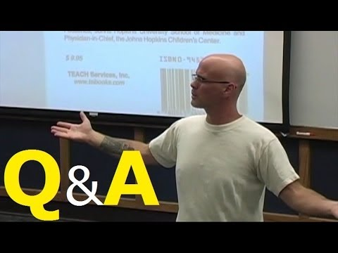 Gary Yourofsky's Speech: Q&amp;A Session