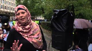Lauren Booth - Support the Release of Aafia Siddiqui
