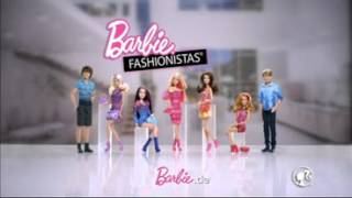 Barbie Fashionista Dolls Commercial Barbie Fashionista