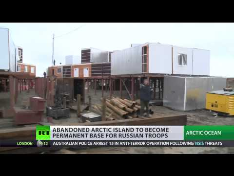 Abandoned Arctic island to become base for (Russian troops)  9/18/14