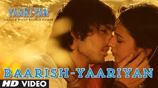 Yaariyan:  Baarish Full Song