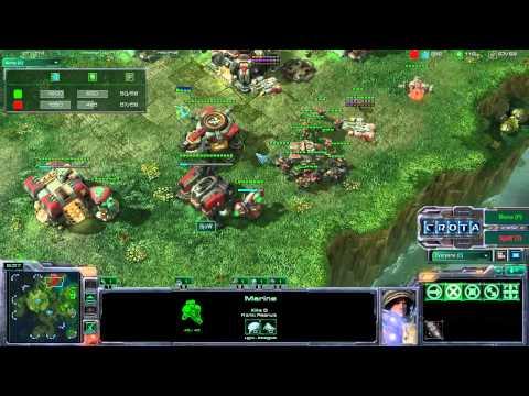 StarCraft 2 - SC400 - Mouz Mana (P) vs SjoW (T) on Lost Temple