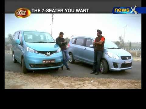 Living Cars- Clash of the MPVs: Maruti Ertiga vs Nissan Evalia