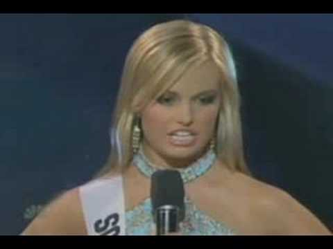 Sarah 'Miss Teen USA' Palin Miss Teen USA South Carolina Uploaded by Brad