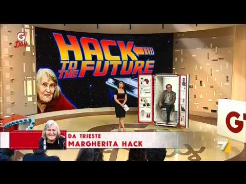 G'DAY 04/04/2012 - Margherita Hack in collegamento telefonico con Geppi