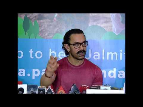 महाश्रमदानात सहभागी होण्याचे आमिर खानचे आवाहन
