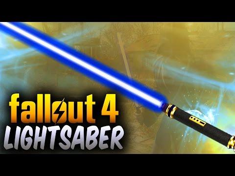 Fallout 4 INSANE Lightsaber Weapon &  Darth Vader Helmet Mod ! (Fallout 4 Mods) - UCxkx-GB_Klxo0yZRRwuTv0g