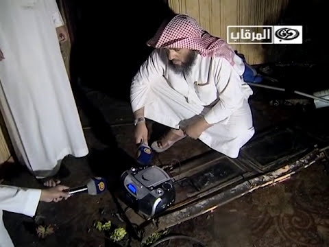 فيديو : زجاجات مجهولة المصدر تهاجم فريق قناة فضائية سعودية داخل بيت مسكون في حائل
