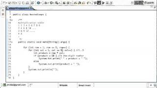 Java Nested For Loops Tutorial