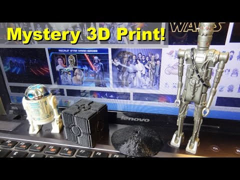 XRobots - 3D Printing Mystery Items for YouTube Channel Toy Polloi, with Acetone Vapour Smoothing