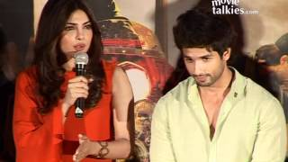  Shahid Kapoor, Priyanka Chopra And Kunal Kohli At First Look Launch Of Teri Meri Kahaani - YouTube 