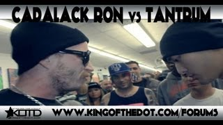 KOTD &#8211; Rap Battle &#8211; Cadalack Ron vs Tantrum
