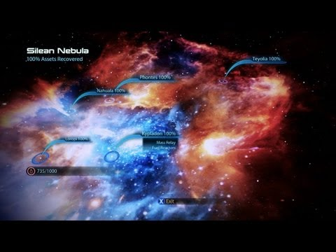 Mass Effect 3 Scanning Guide - Silean Nebula