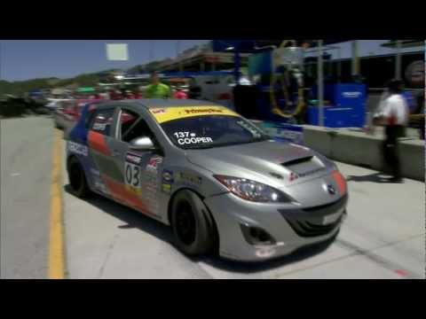 The Michael Cooper Story—Mazda Raceway Laguna Seca—World Challenge Mazdaspeed3 | Mazda USA