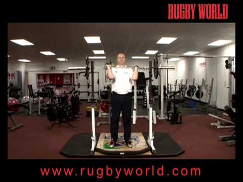 Weightlifting for Rugby Fitness - The Overhead Press