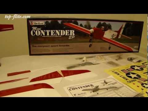Top Flite Mini Contender EP Out of The Box Preview - UCLEC1xjMQ-fBWyAD6LqH3ZA