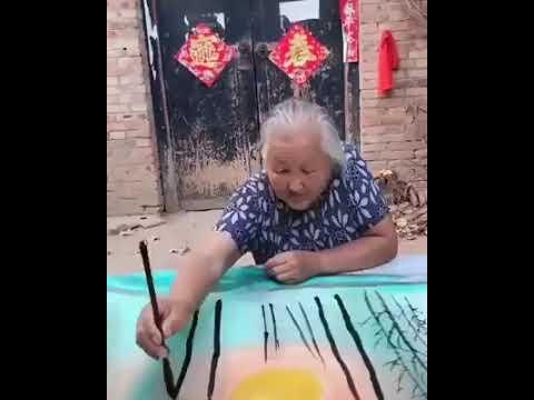 Тосгоны эмээгийн уран бүтээл