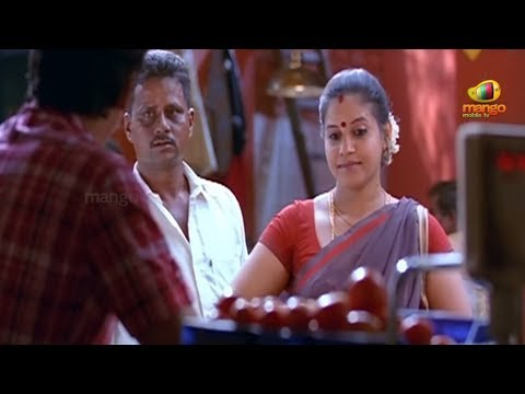 Jeeva trying to impress an aunty - Mask Movie Hero Jeeva Simham Puli Movie Scenes - Jeeva, Ramya