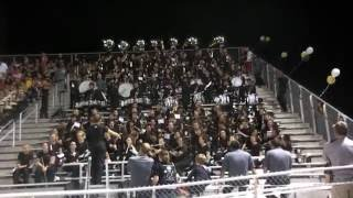 FHS Band Plays Fireball in the Stands at the Homecoming Game