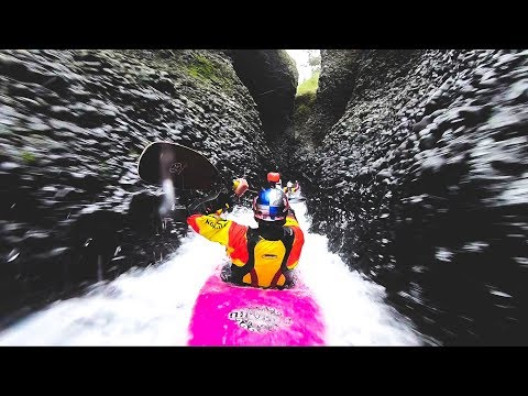 Kayaking through the most amazing and remote canyon in the world!